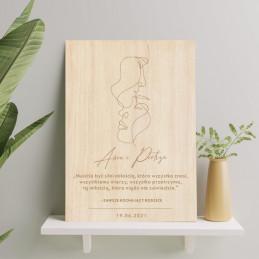 Drewniany obraz 30x40 cm...