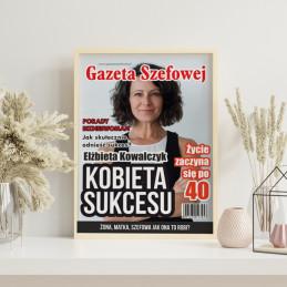 Okładka gazety GAZETA SZEFOWEJ