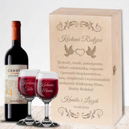 Skrzynka na wino i...
