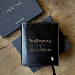 Skórzany portfel NAJLEPSZY...